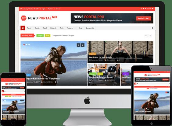 flixweb, News Website Design